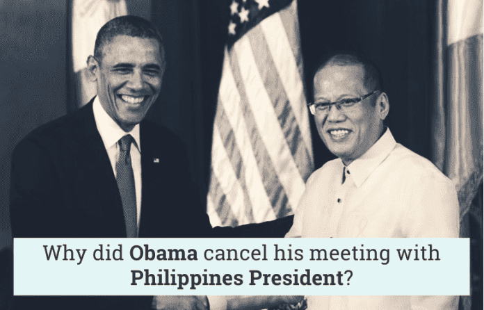 why-did-obama-cancel-his-meeting-with-philippines-president-